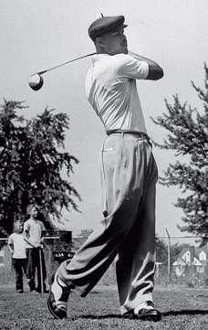 joe louis golf swing