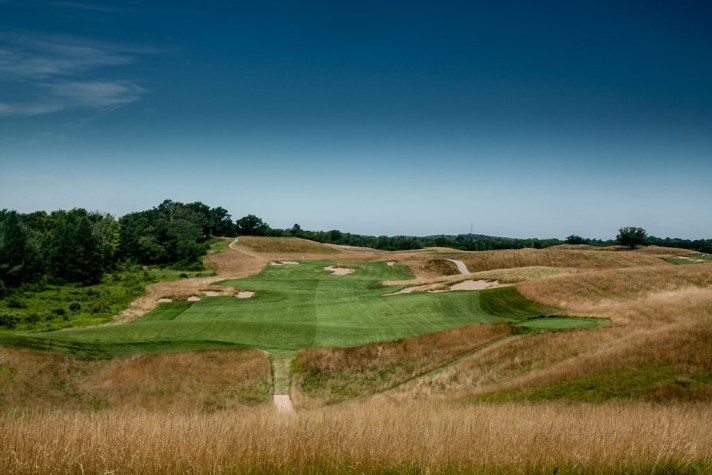 rough at Erin Hills