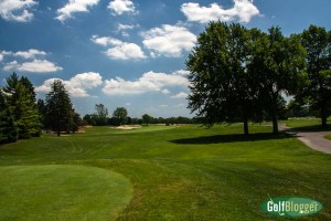 The second at Oakland Hills is a 525 yard par 5