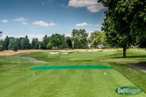 The third at Oakland Hills South is a 192 yard par 3.