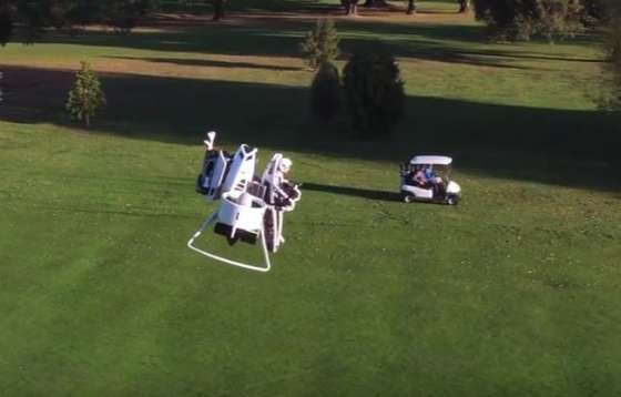 Bubba's Golf Jetpack