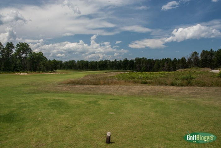 Hole One of The Loop at Forest Dunes - Counterclockwise