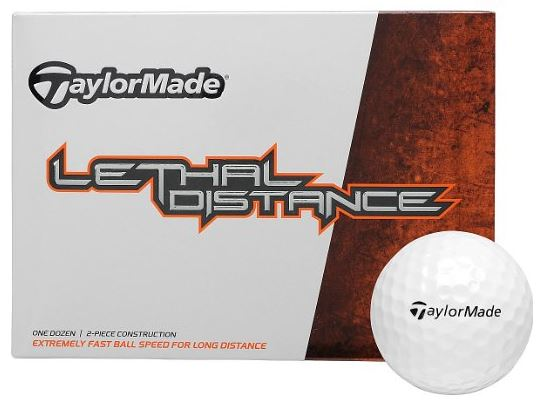 TaylorMade Lethal Distance Golf Balls