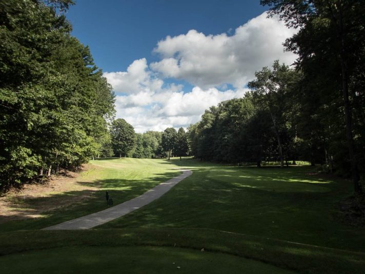 The seventh at The Moor is a 377 yard par 4.