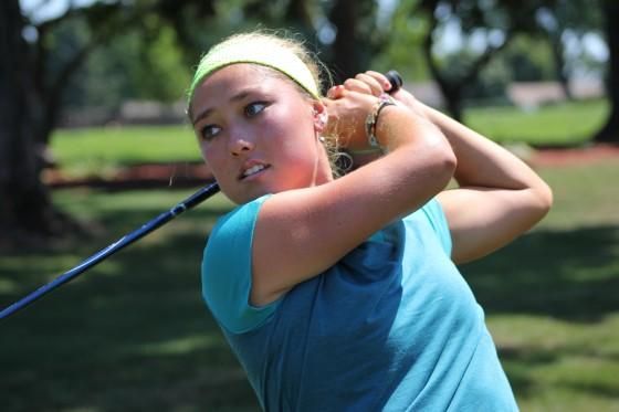 Aya Johnson, one of sixteen advancing in the 2016 Michigan Women's Amateur