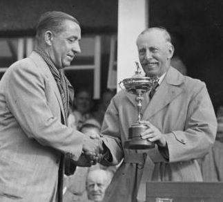 Walter Hagen at the 1937 Ryder Cup