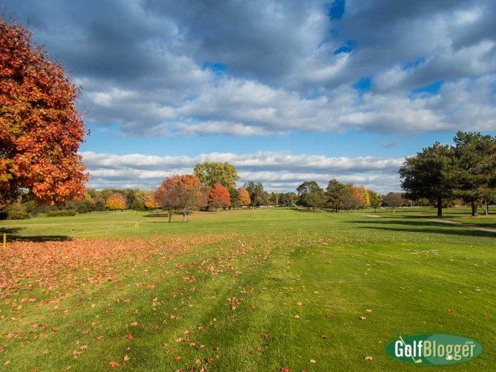 October Golf At Green Oaks, Ypsilanti, Michigan