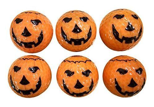 Pumpkin Golf Balls