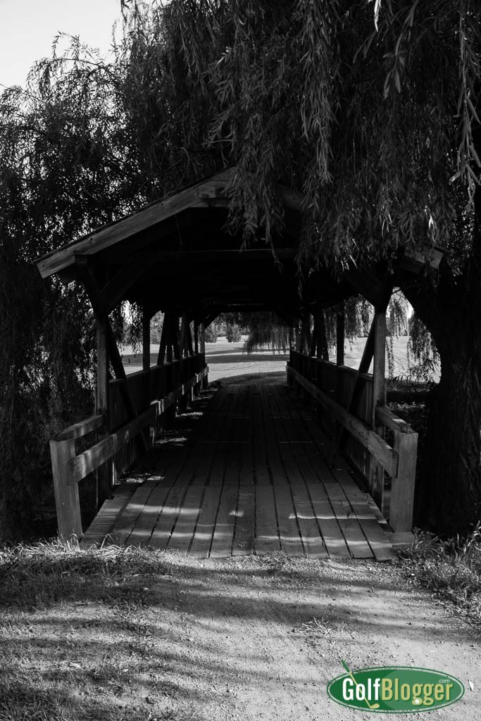 Golf Course Covered Bridge