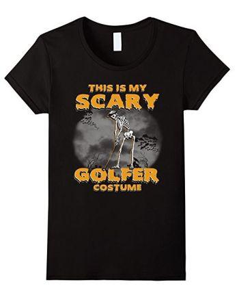 Scary Golfer Costume T Shirt