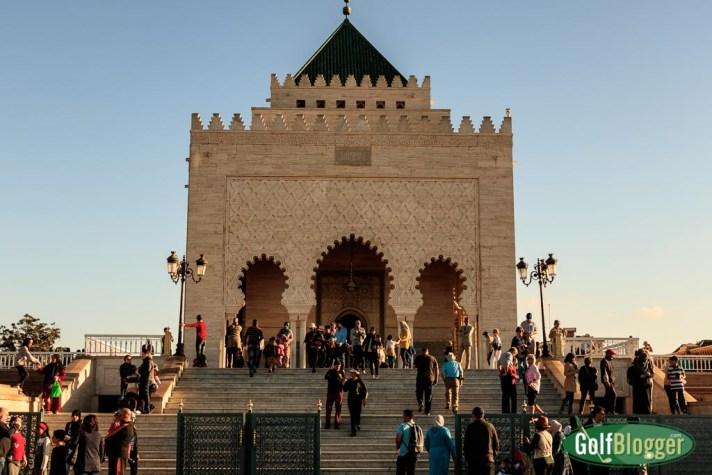 The Mausoleum of Mohammed V