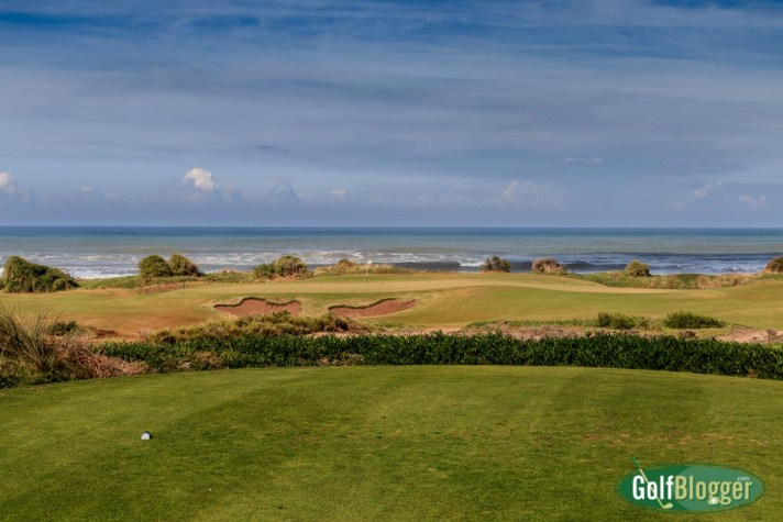 Mazagan Golf Course Review: The 15th hole