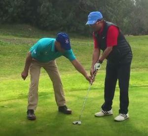 Zohar Sharon, blind golfer
