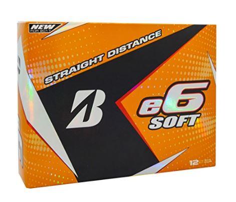 Bridgestone E6 Soft Golf Balls For 2017