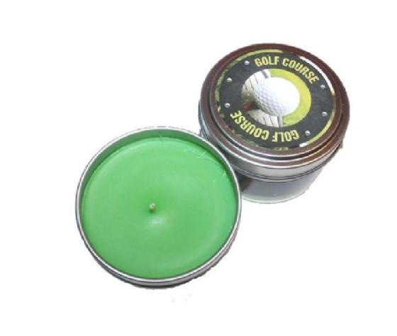 Grass Scented Man Candle