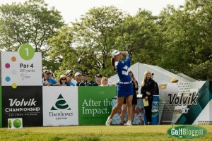 Minjee Lee in the final round of the 2017 Volvik Championship