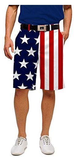 Patriotic Golf Shorts