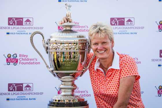 Trish Johnson Wins Inaugural Senior LPGA Championship presented by Old National Bank at the Pete Dye Course at French Lick Resort