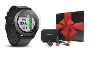 Garmin Approach S60 Golf Watch GIft Bundle