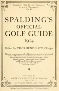 Tom Bendelow On Building A Golf Course