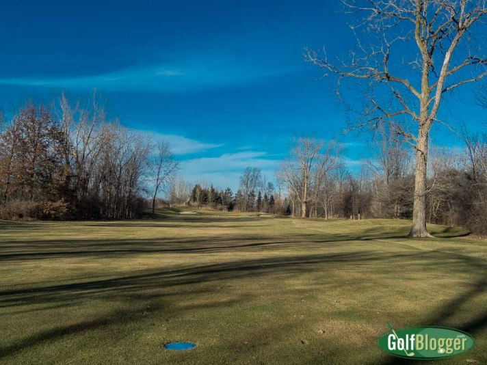 January Golf In Michigan