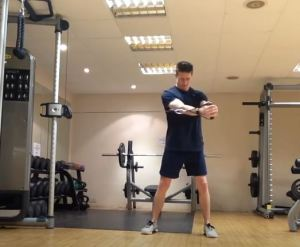 Cable Core Exercises For Golf #FitnessFriday