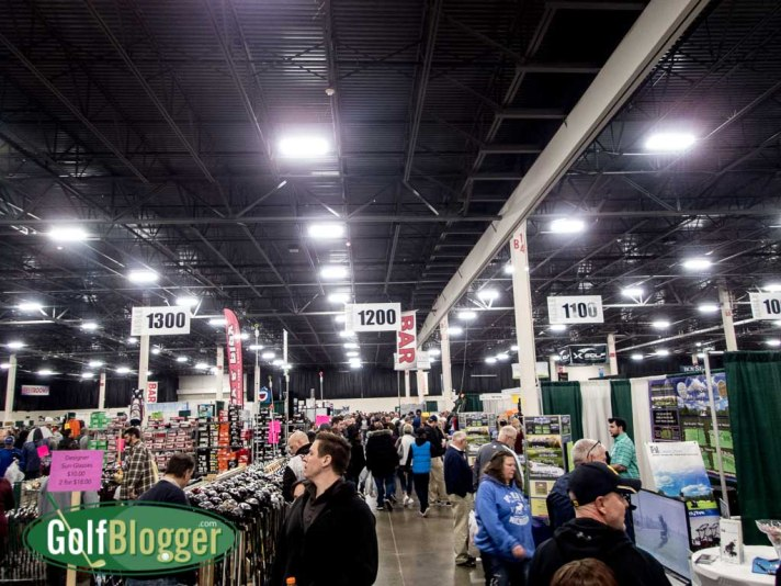 Shopping for bargains at the Michigan Golf Show