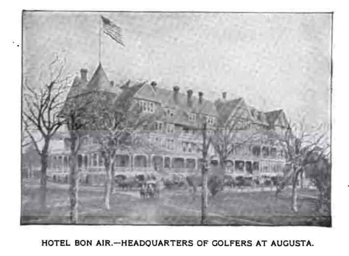 Golf In Augusta -- In 1899. The Augusta Country Club