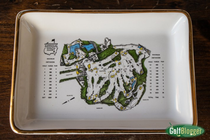 Augusta National Golf Club Porcelain Dish