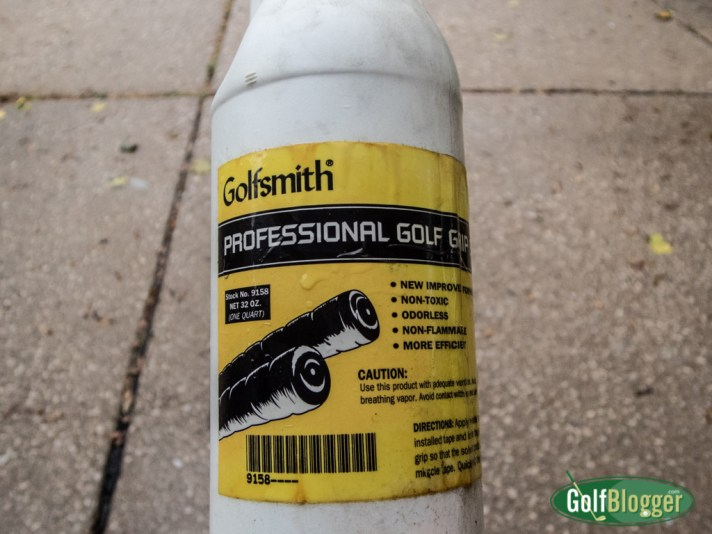 Last of the Golfsmith Grip Solution