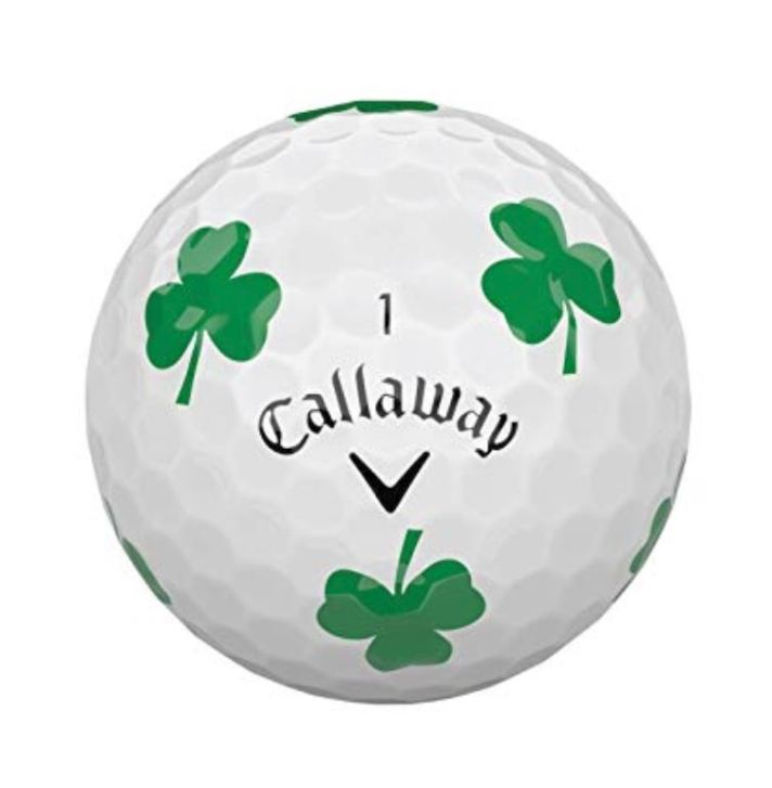 Callaway Shamrock Chrome Soft Golf Ball