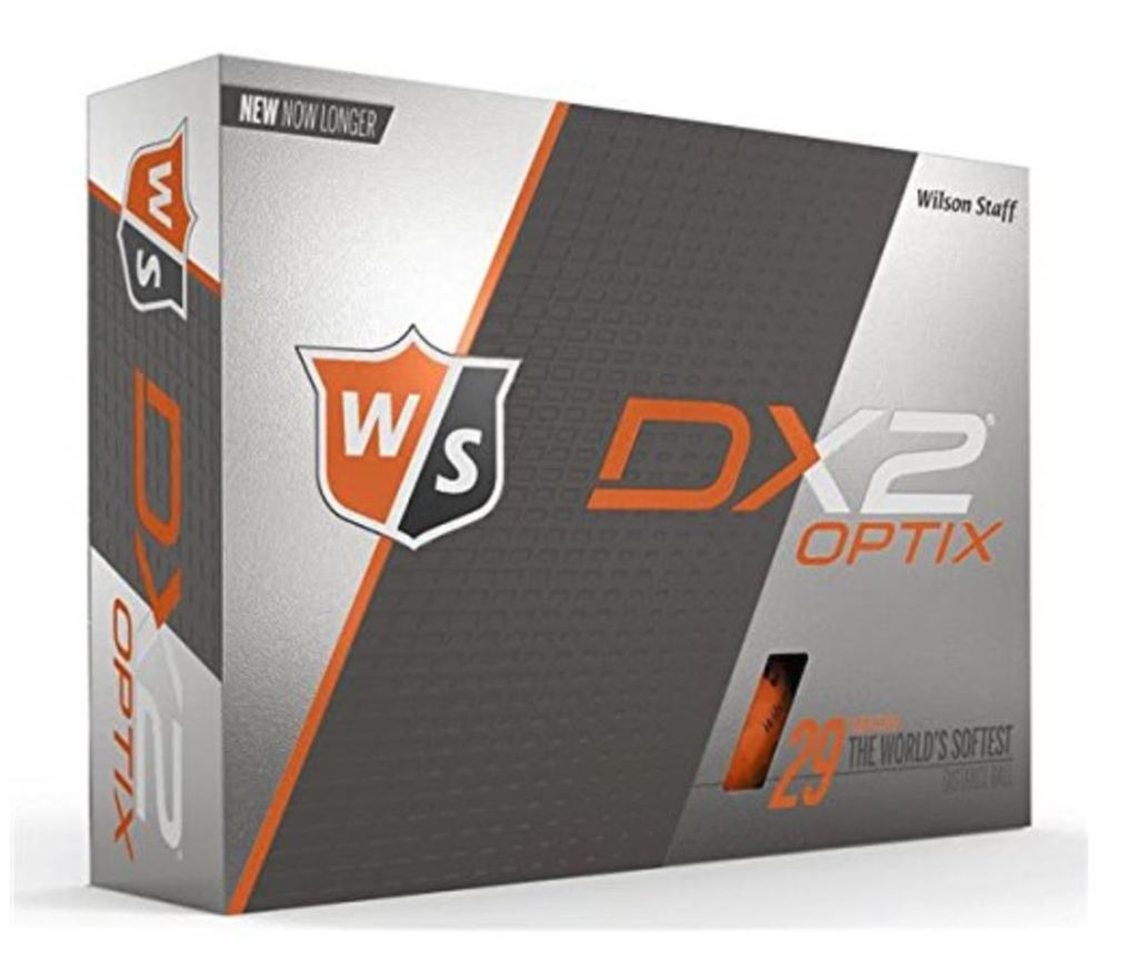 Wilson DX2 Optix Golf Ball - 2019