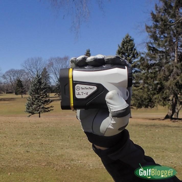 Testing Golf Gear:  TecTecTec Ult-X Laser Rangefinder