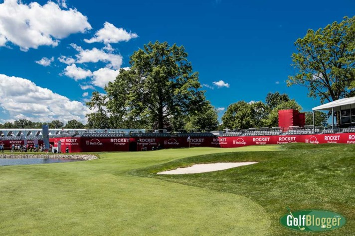 Pros and Celebs Kick Off Area 313 at The Rocket Mortgage Classic