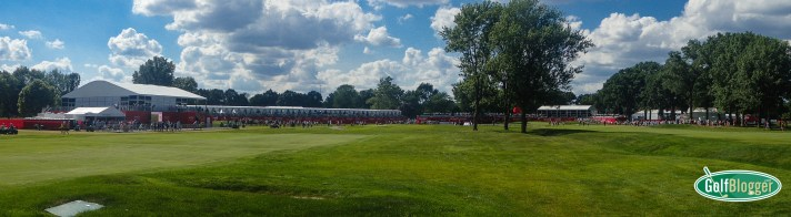 Panoramic View of Area 313 At The Rocket Mortgage Classic