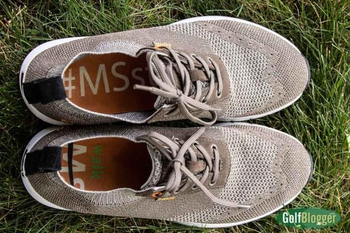 True Linkswear Knit Golf Shoe Review #MSStrong