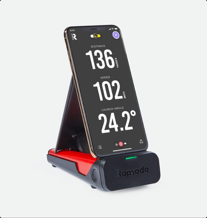 GolfBlogger's Golf Gift Guide 2019 Rapsodo Mobile Launch Monitor