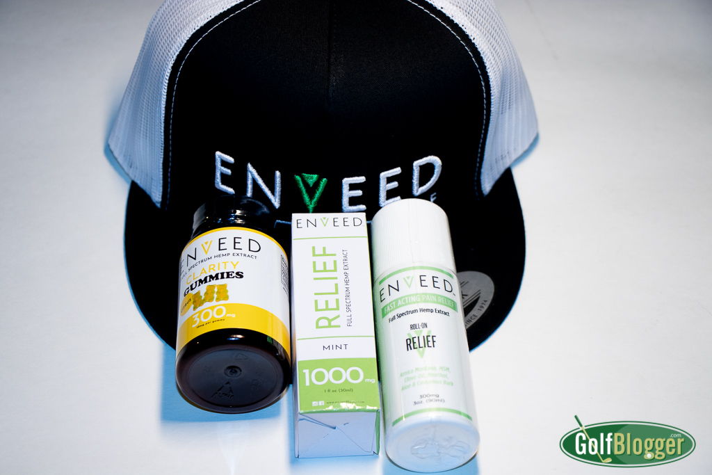 Enveed CBD Golf Products Review
