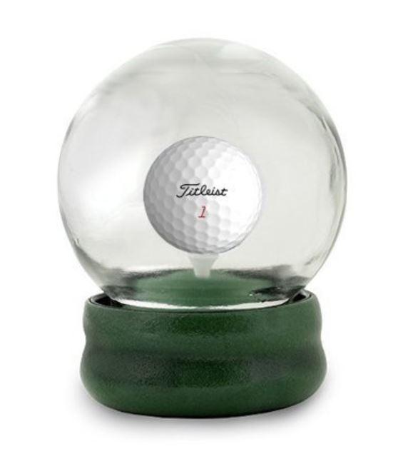 Golf Snow Globe Game