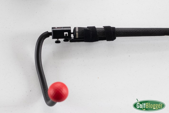 Total Golf Trainer Review. Club attachment.
