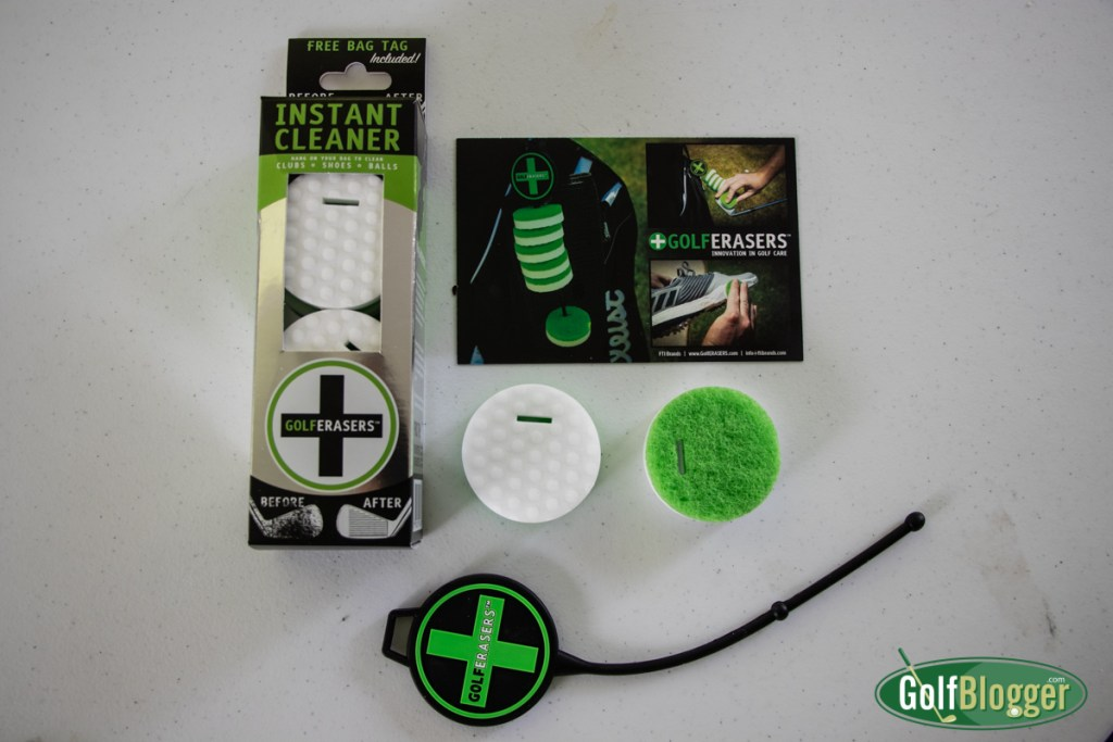 In The Mail: Golf Erasers