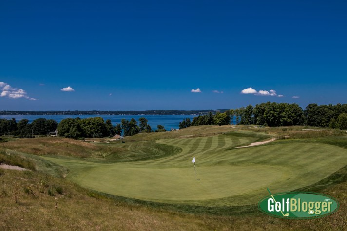 Getting In Some Northern Michigan Golf: LochenHeath, Wild Bluffs, Mackinaw