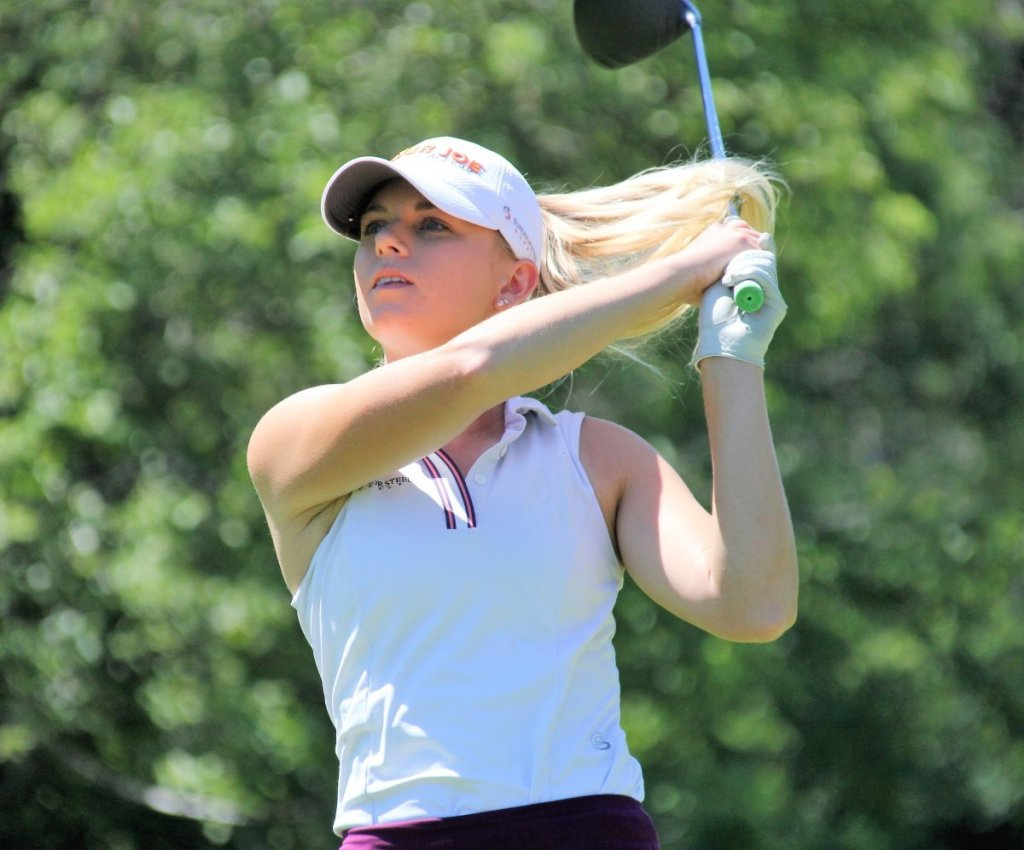 Burnham Wins 2020 Michigan Women's Open By 10 Shots