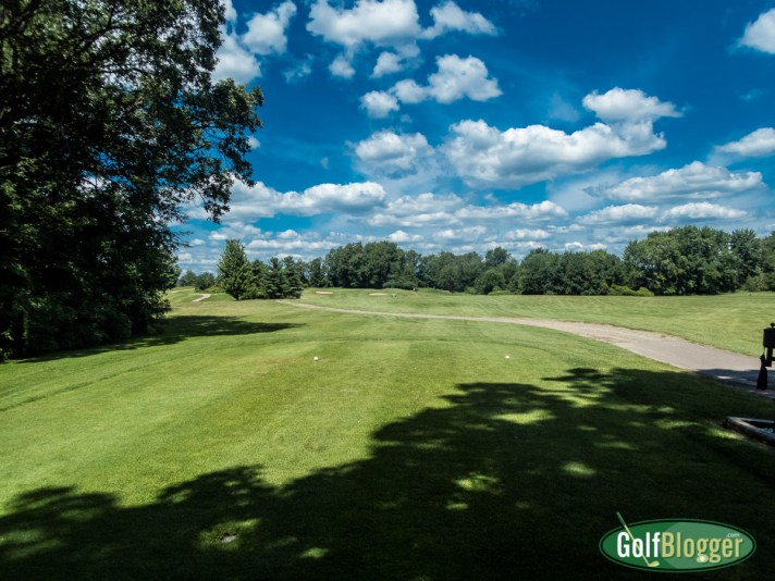 Wheatfield Valley Golf Course Review The eighth hole