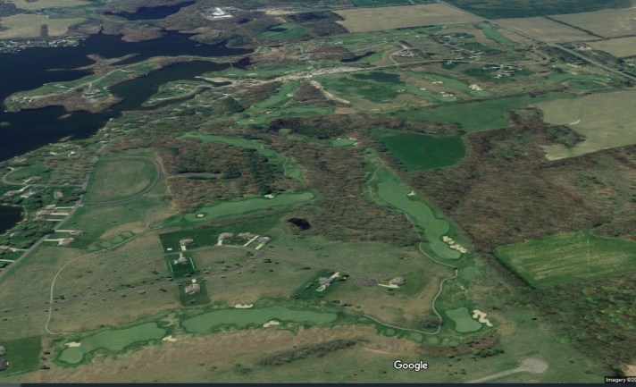 Island Hills Golf Course Review aerial