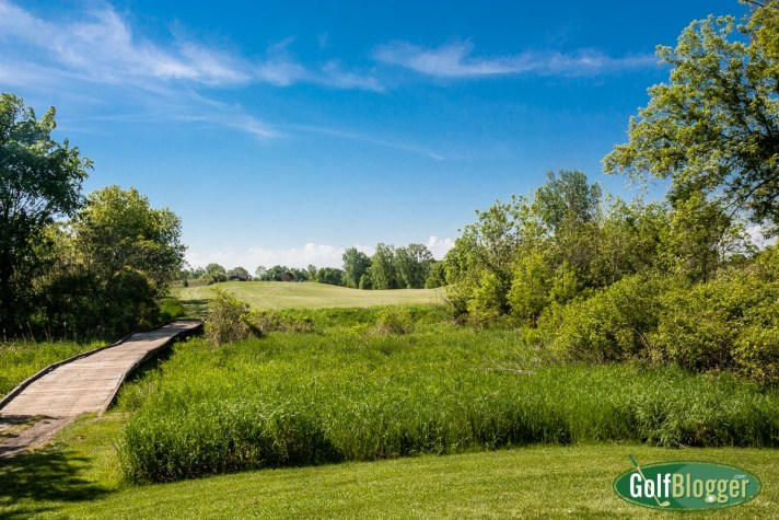 The Links At Hunters Ridge Golf Course Review eighteenth hole