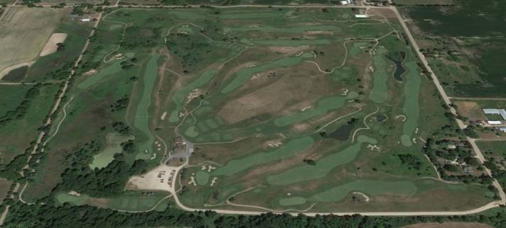 The Links At Hunters Ridge Golf Course Review aerial view