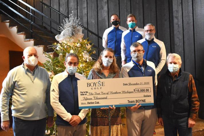 Team Boyne, Harbor Cup Raise $75k For Local Charities In Northern Michigan in 2020. Mana Project, First Tee Among Beneficiaries
