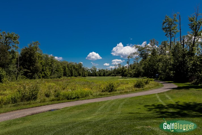 Wild Bluff Golf Course Review. The fifth hole.