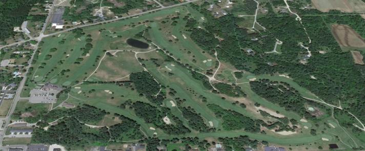 West Branch Country Club Golf Course Review Aerial View